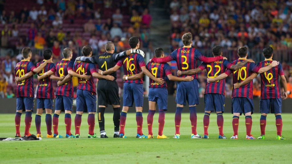 fc-barcelona-on-the-pitch