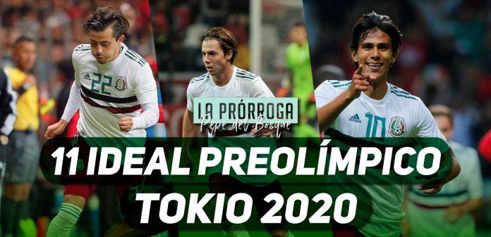 11 ideal preolímpico Tokio 2020