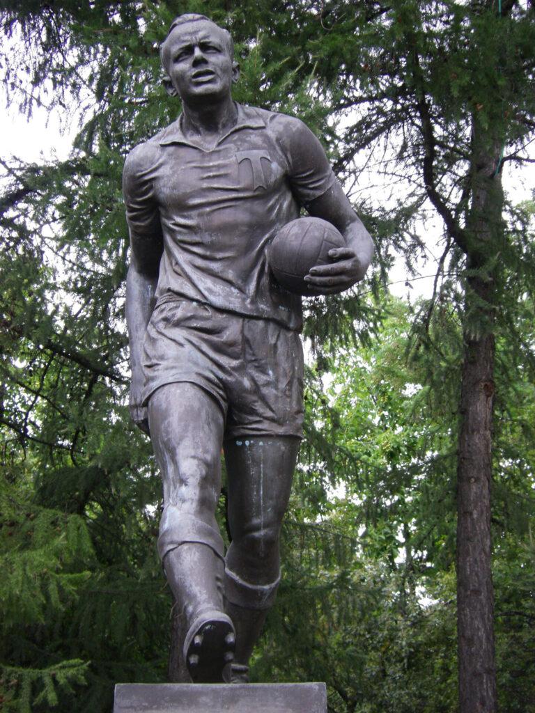 Estatua de Eduard Streltsov. Foto: Getty Images
