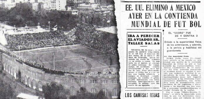 México vs. Estados Unidos: Italia 1934
